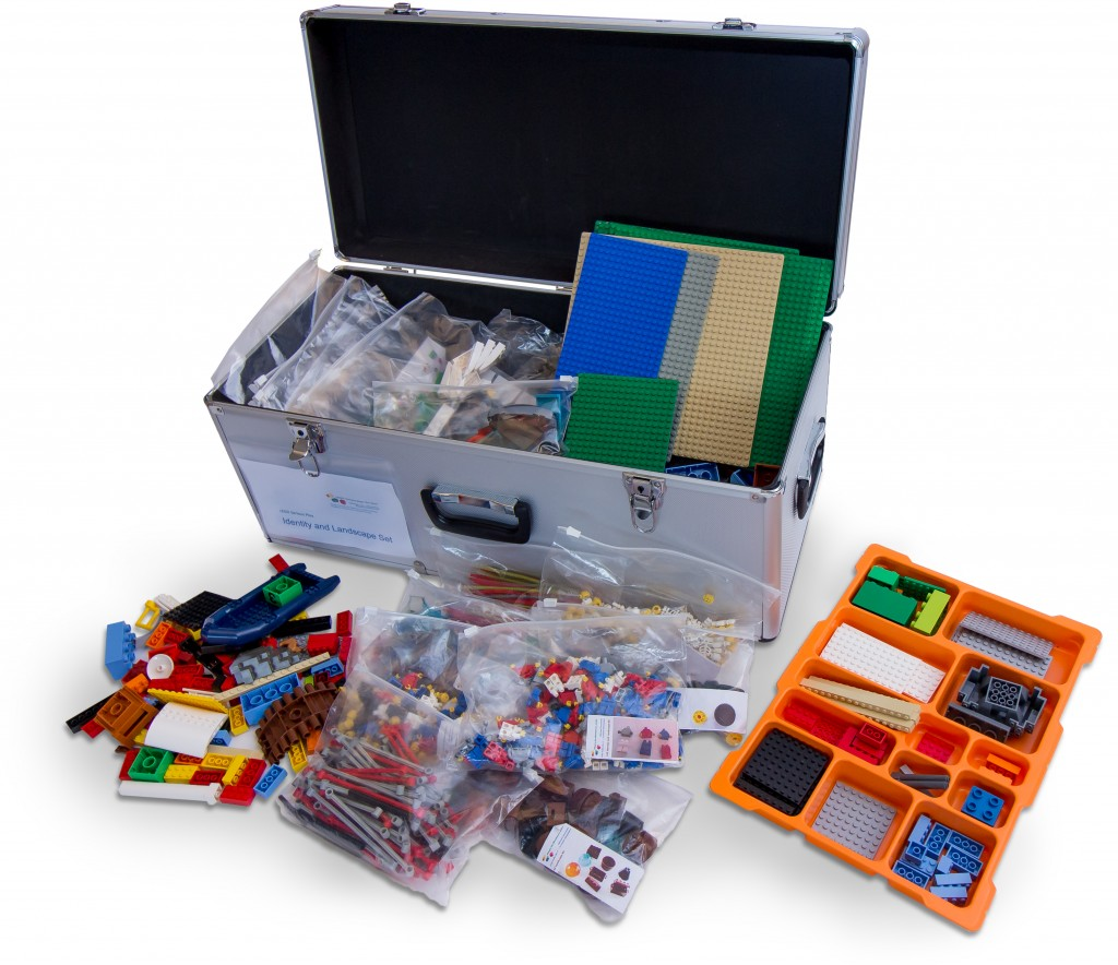 Sorted LEGO Serious Play Kits